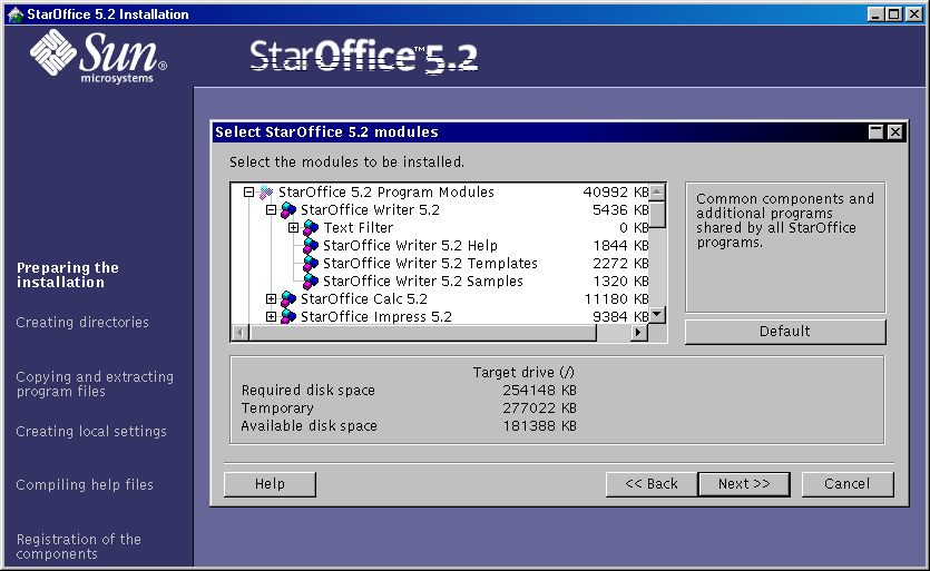 staroffice 5.2 gratuit