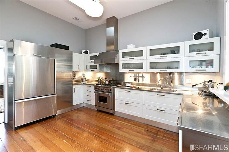 Completely renovated kitchen in our Abbey St condo