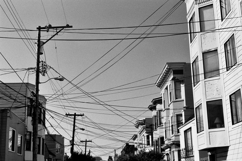 Albion Street power lines