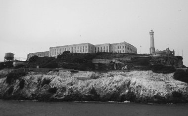 An Alcatraz drive-by