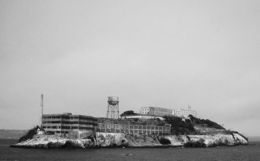 Alcatraz Island in full
