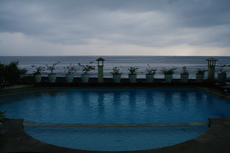 amed kembali beach bungalows pool view