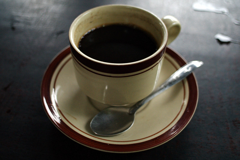 A hot cup of kopi luwak
