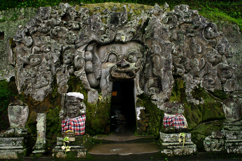 Bali's Goa Gajah, the elephant cave