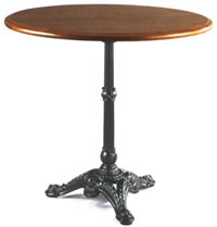 Iu0027m In Search Of A French Bistro Table (aka A Guéridon) With A Cast Iron  Base And A Simple Black Marble Top, About 28 Inches In Diameter.