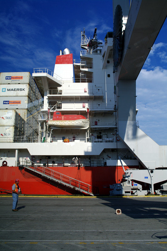 Cap Cleveland superstructure in Savannah