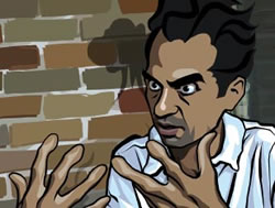 Caveh Zahedi in Waking Life