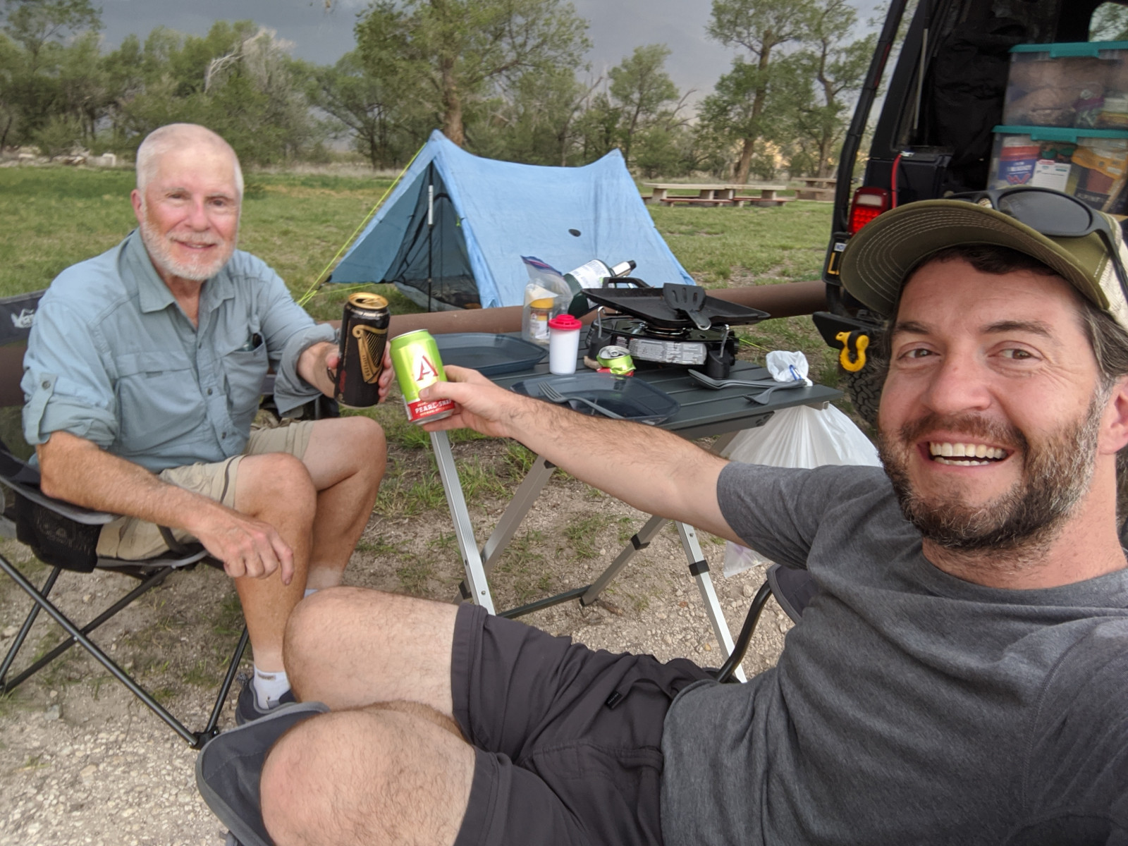 Cheers in Rita Blanca National Grassland