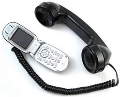 Old Skool Hand Free Cell Phone handset