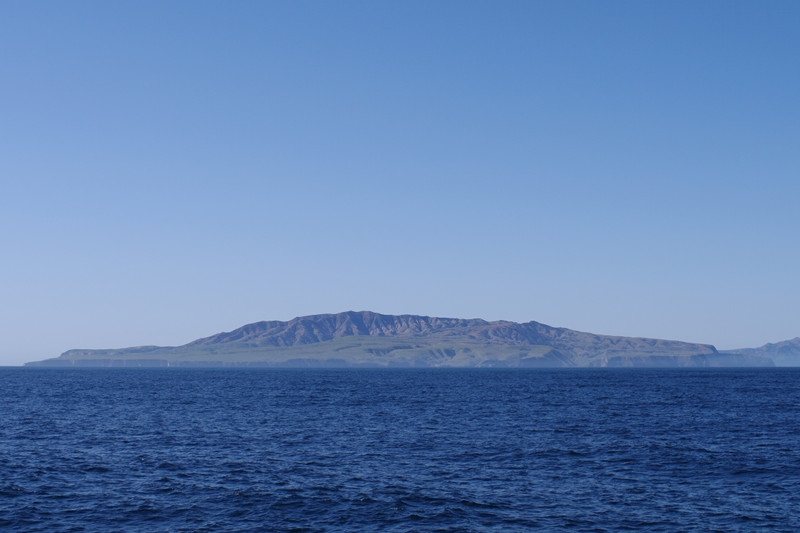 Approaching Santa Cruz Island, part of Channel Islands National Park