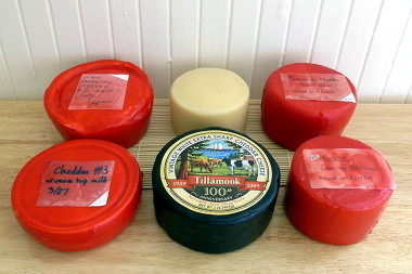 Our cheese cave inventory, circa June 2009