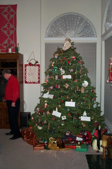 the big christmas tree of 2000