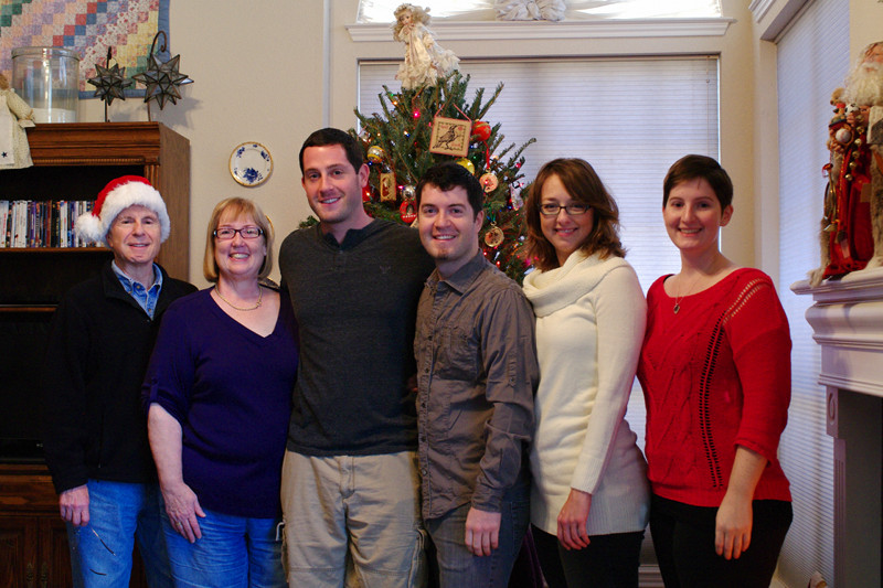 Christmas 2012 family photo