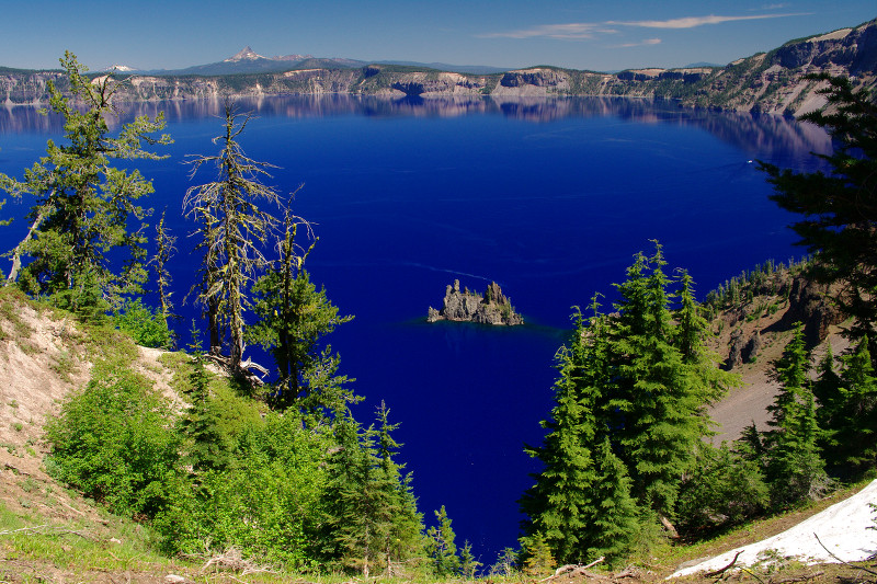 Crater Lake, as seen from the Sun Notch Overlook