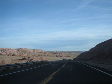 getting closer to the grand canyon