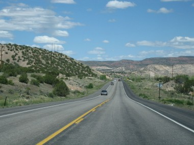 the beautiful and lush new mexico countryside