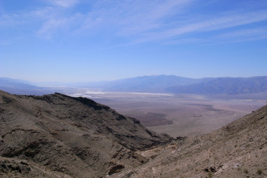 Sweeping view of Death Valley above the Keane Wonder Mine