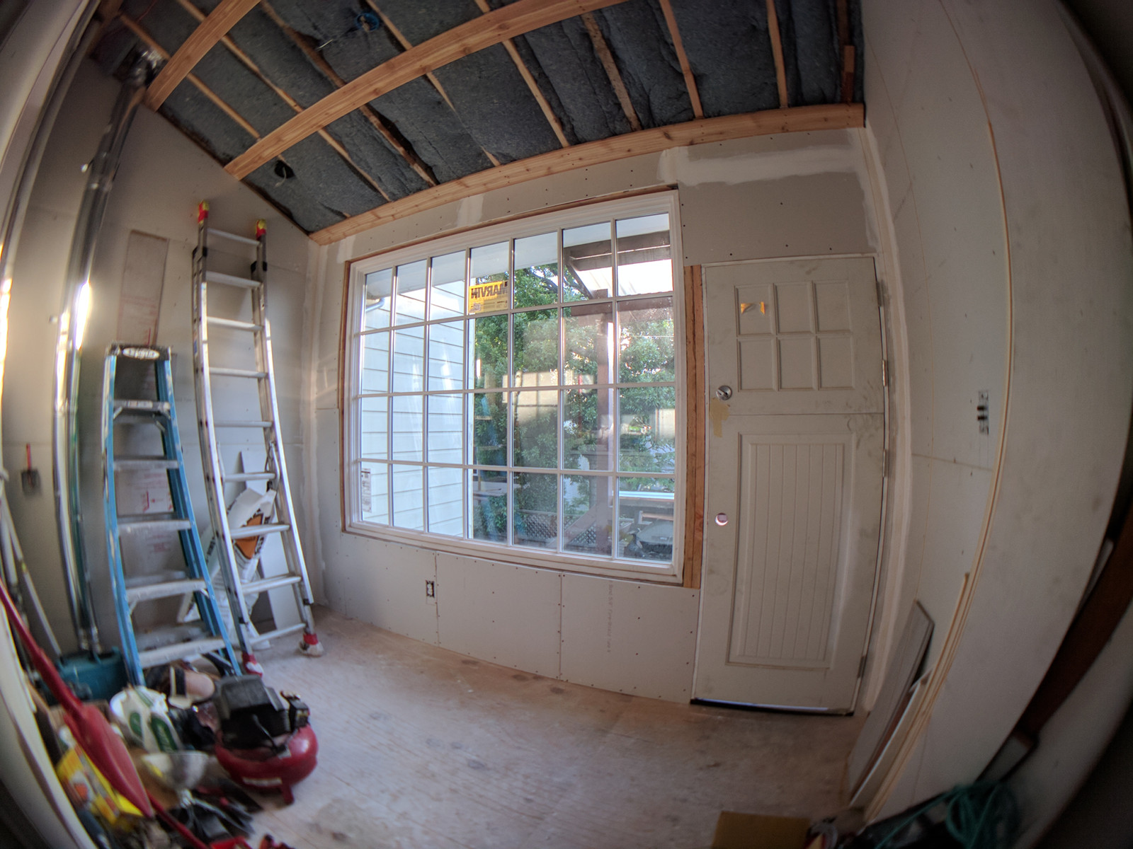 Dining nook renovations in progress