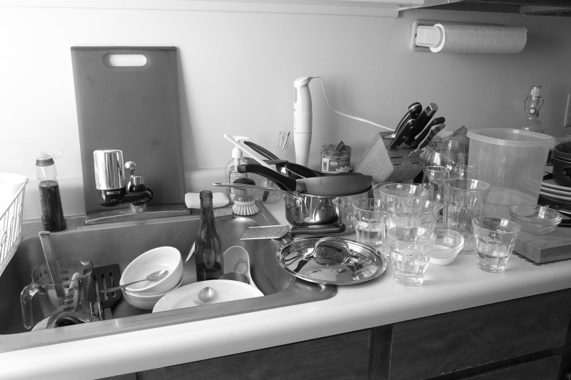 Dirty Dishes In The Kitchen Sink Lyrics