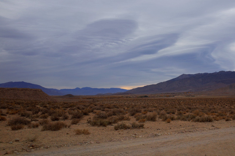 Thanksgiving Road Trip through the Eastern Sierras and Death Valley