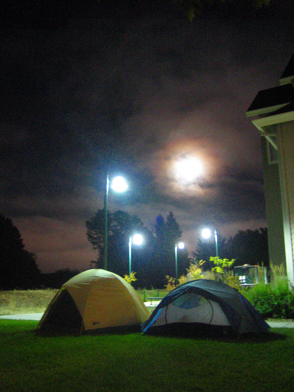O'Reilly's FOO Camp 2005 night shot