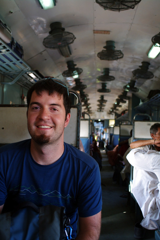 gandhidham india justin on train