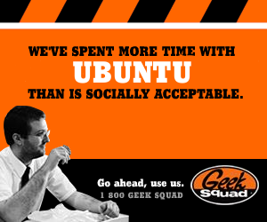 Geek Squad parody ad: We've spent more time with Ubuntu than is socially acceptable.