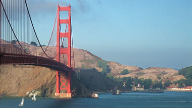 Golden Gate Bridge and Fort Baker