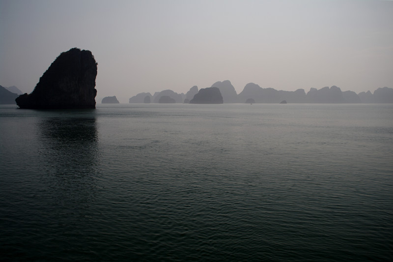 Monochromatic Hạ Long Bay, Vietnam