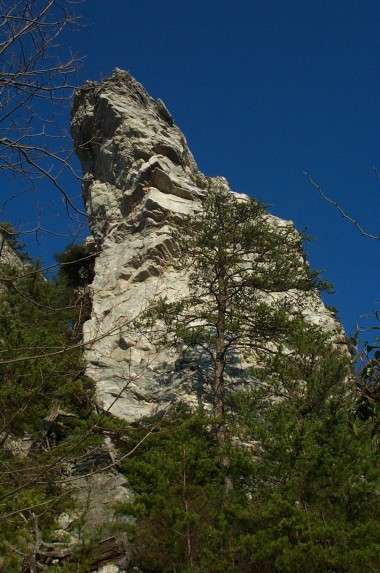 i think this is the hanging rock
