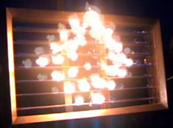 Infernoptix, a Digital Pyrotechnic Matrix