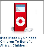 iPod Made By Chinese Children To Benefit African Children