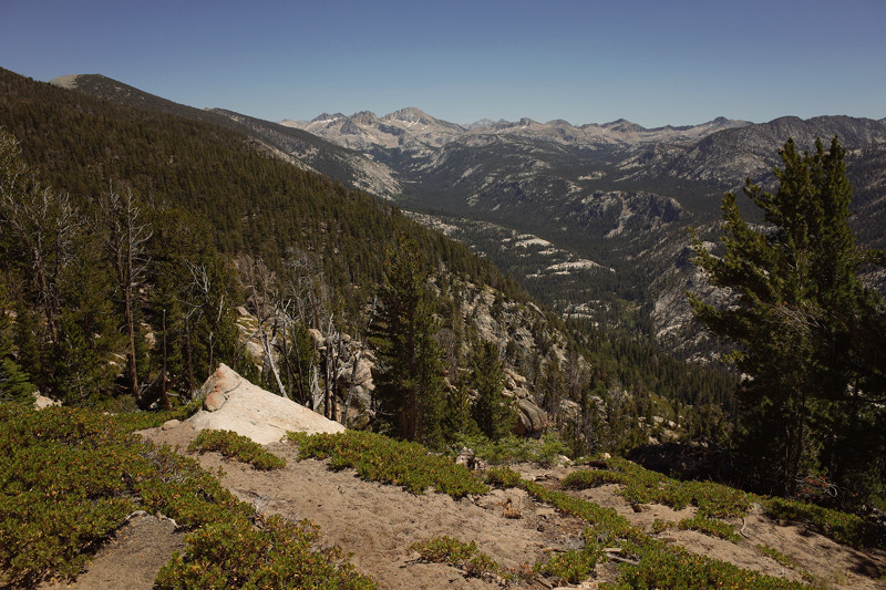 Cascade Valley, south of Devil's Postpile National Monument