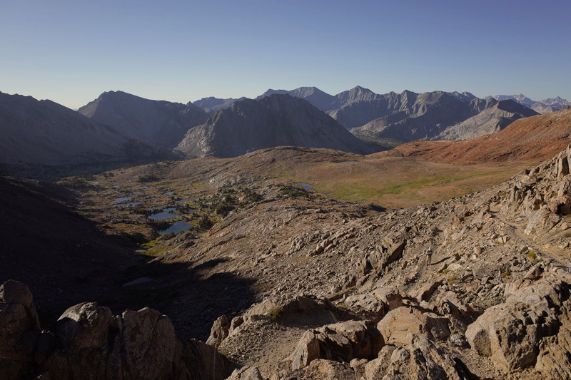 View south from Pinchot Pass