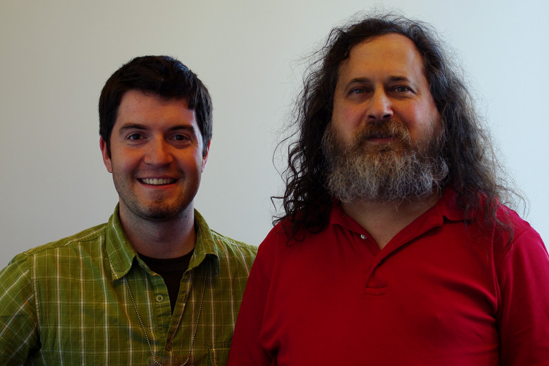 Justin Watt and Richard Stallman