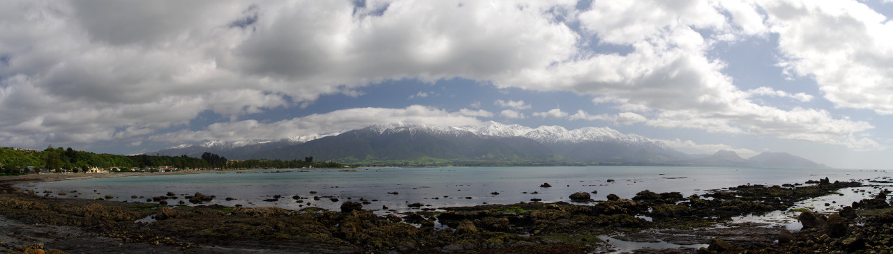 The Seaward Kaikoura Range