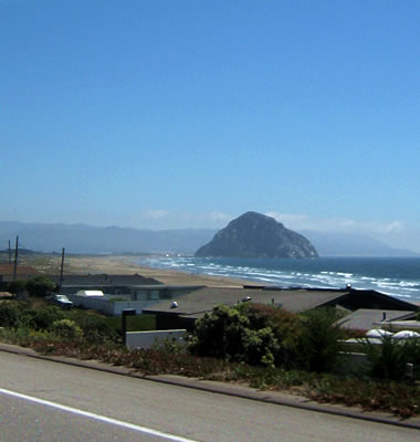 Morro Rock in the distance