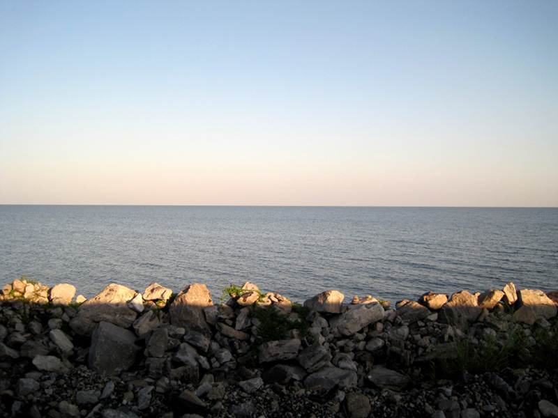 Lake Pontchartrain from the train
