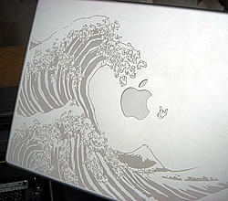 Laser Etched Powerbook