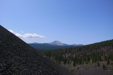 Mt Lassen from Cinder Cone