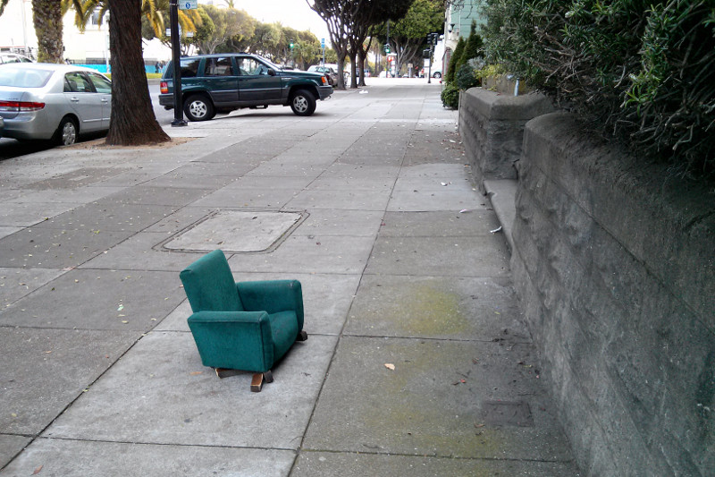 Small armchair in the mission