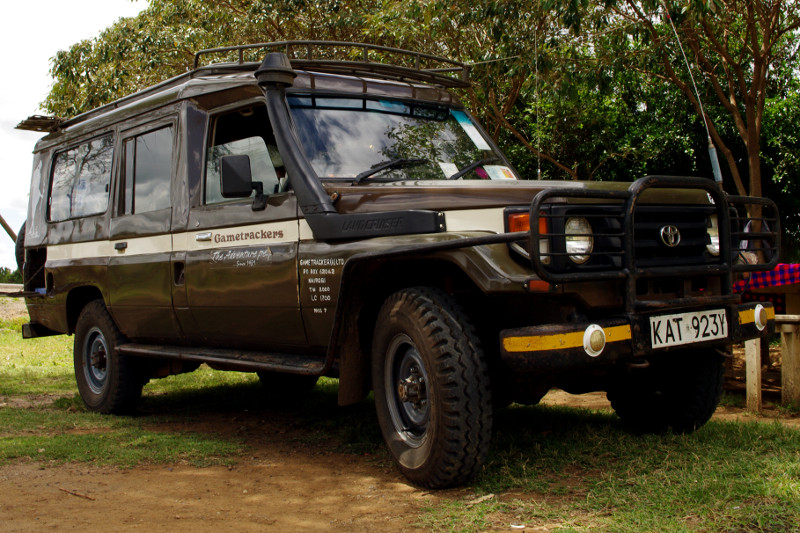 maasai mara kenya gametrackers toyota land cruiser
