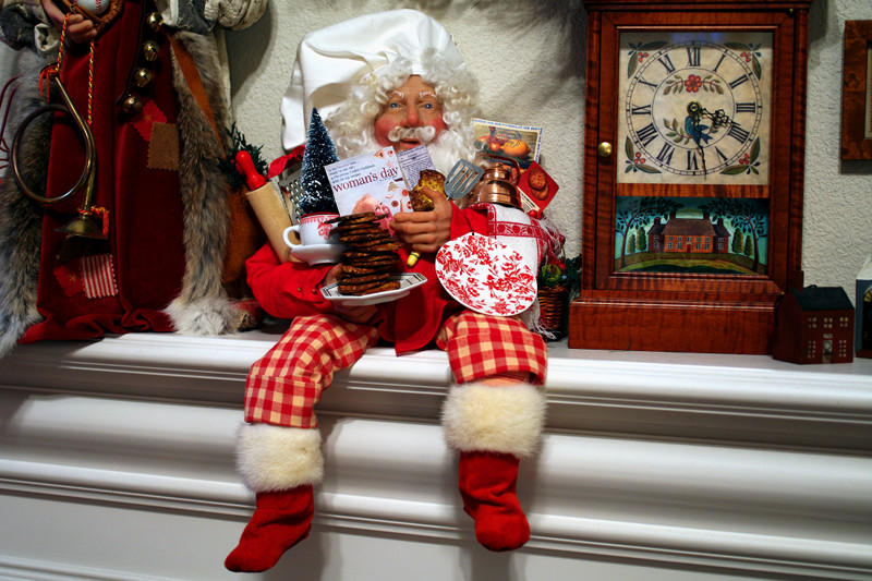 Melt in-the-Mouth Cookie Santa Claus by Michelle Treichler