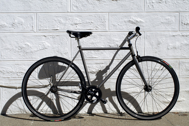 Mission Bicycle with matte clear coat