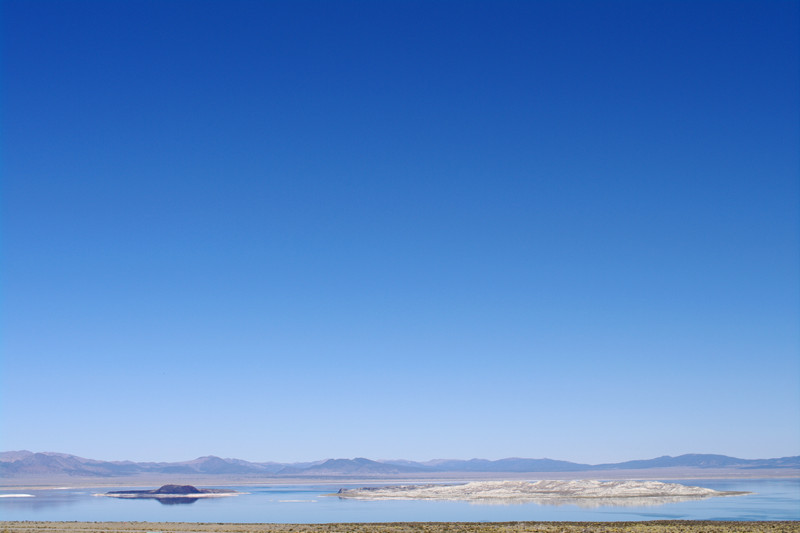 First sight of Mono Lake