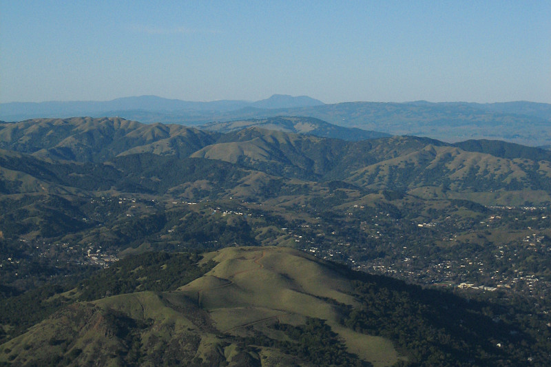 Mt. Saint Helena from Mt. Tamalpais