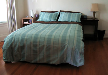 new striped comforter cover