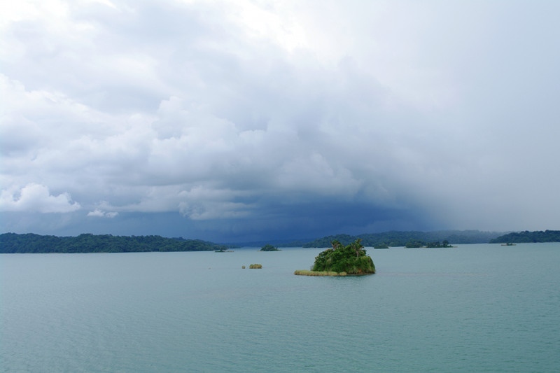 Dark clouds ahead on Gatun Lake