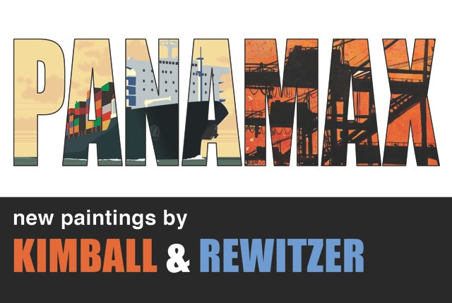 PANAMAX Exhibition at arc studios & gallery: Kimball and Rewitzer