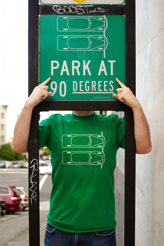 Park at 90 Degrees t-shirt